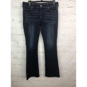 American Eagle jeans kick boot 16 long